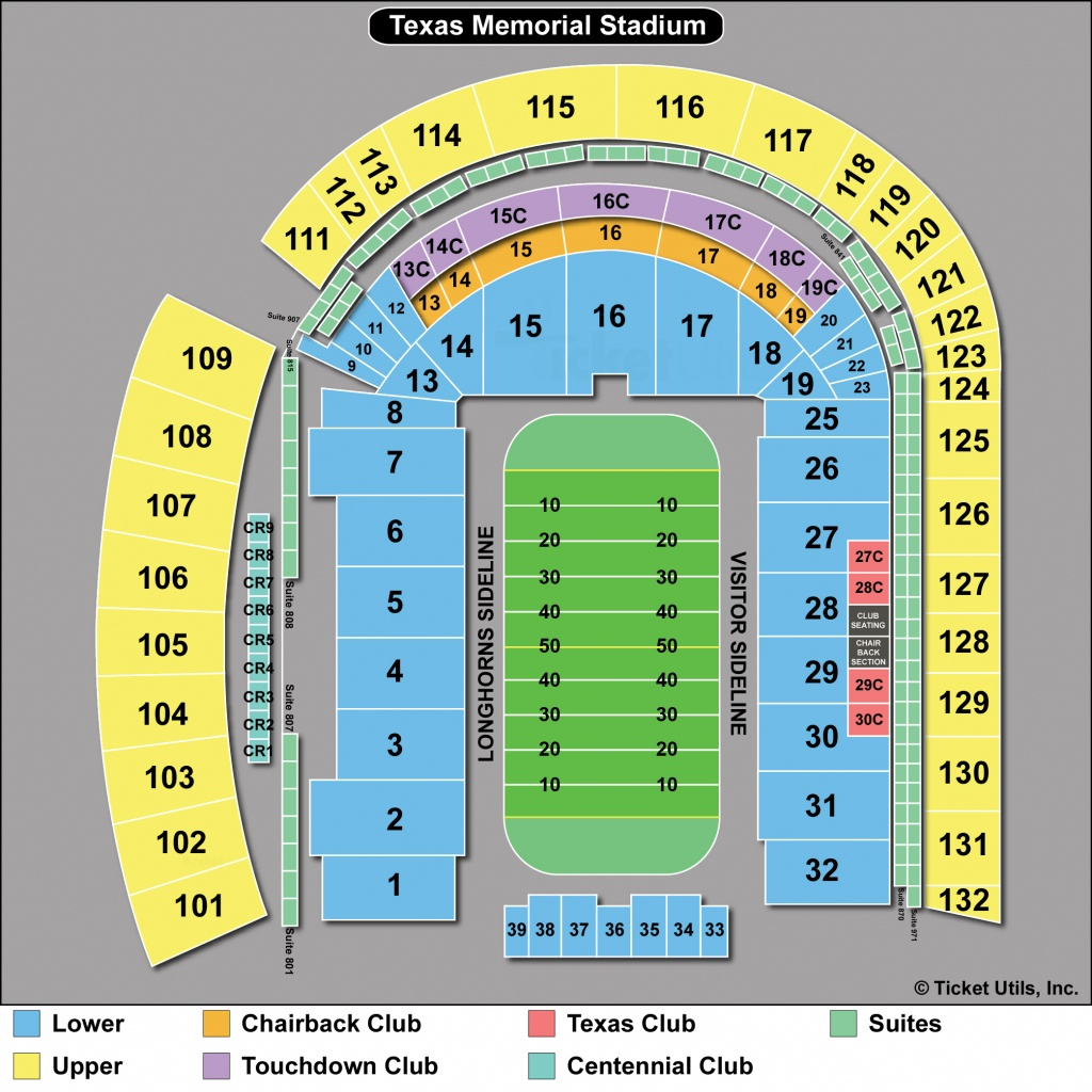 Dkr Stadium Map | Area Code Map - University Of Texas Football Stadium Map