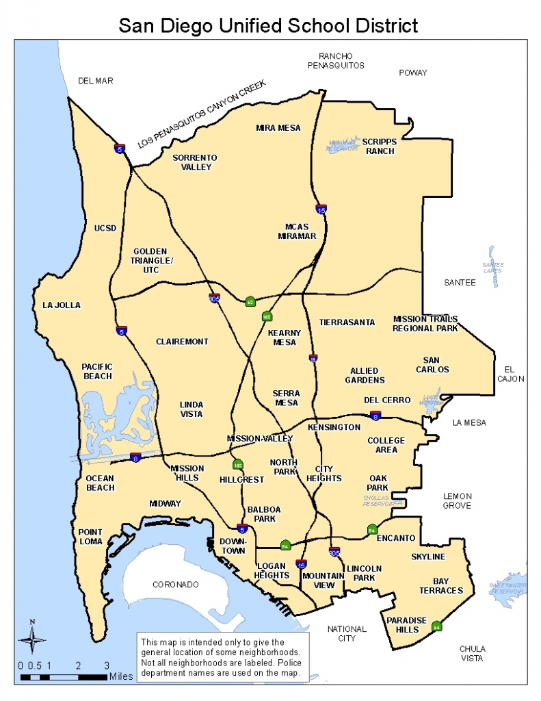 Do I Live Within San Diego Unified School District? | San Diego - San Antonio Zip Code Map Printable
