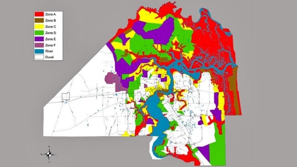 Do You Live In A Flooding, Evacuation Zone? - Fema Flood Maps St Johns County Florida
