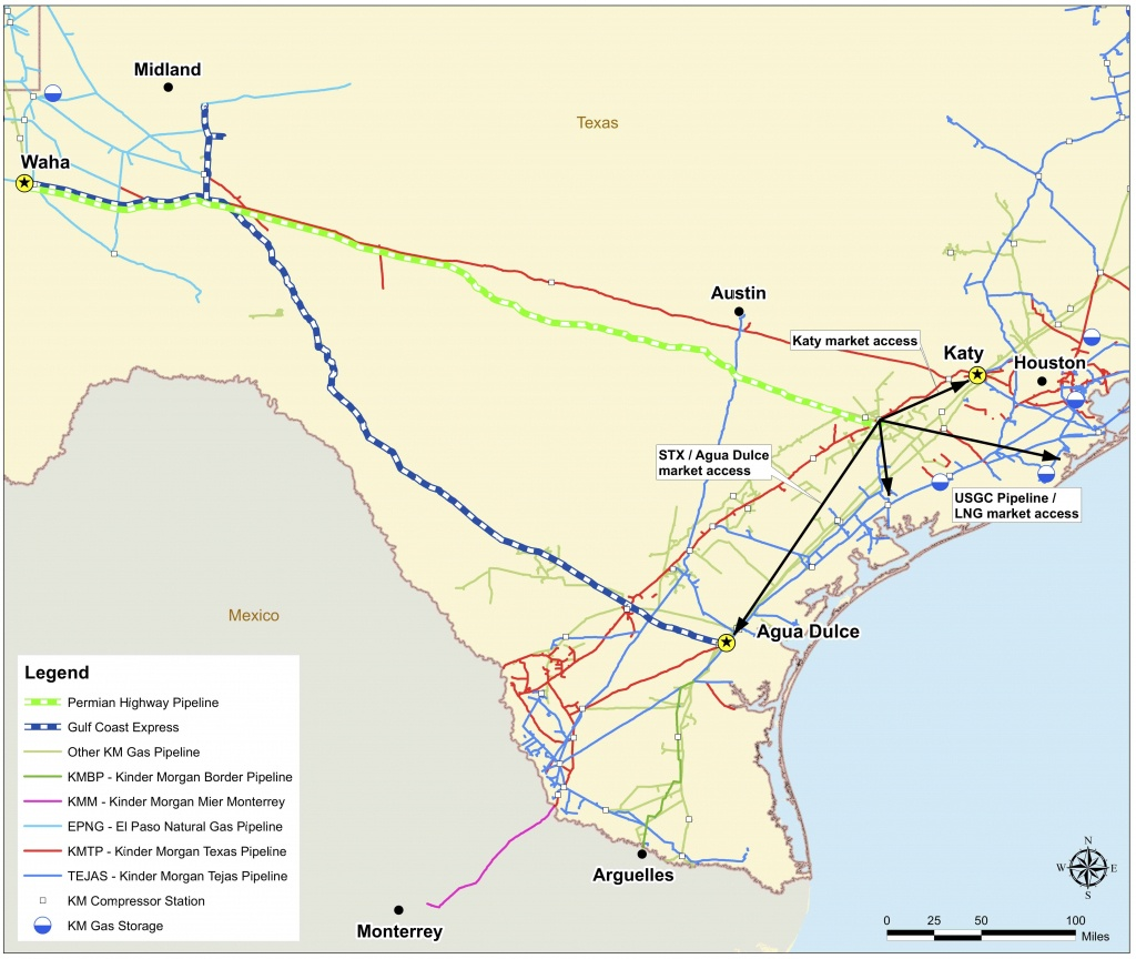 Does The Permian Highway Project Affect You? - Tx Condemnation Rights - Kinder Morgan Pipeline Map Texas