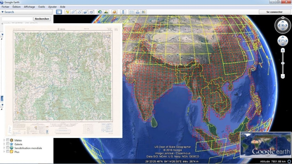 Download Topographic Maps From Google Earth - Youtube - Free Printable Topographic Maps