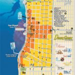 Downtown Cozumel Map | Cozumel In 2019 | Cozumel Cruise, Cozumel   Printable Map Of Cozumel Mexico
