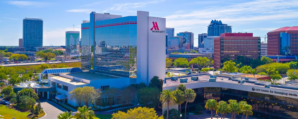 Downtown Hotels In Orlando, Fl | Marriott Orlando Downtown - Map Of Hotels In Orlando Florida