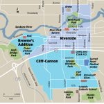 Downtown Spokane A Crucible For Housing, Transit And Business Ideas   Downtown Spokane Map Printable