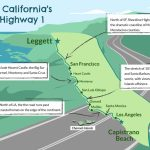 Driving California's Scenic Highway One   Map Of Hwy 1 California Coast