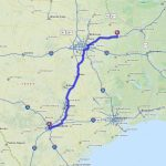 Driving Directions From San Antonio, Texas To Mount Vernon, Texas   Mapquest Texas Map