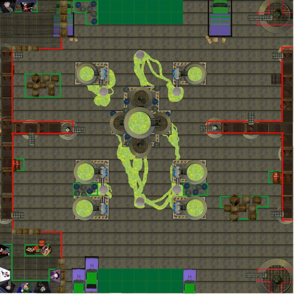 Dundjinni Mapping Software - Forums: New Heroclix Maps | Space Rpgs - Printable Heroclix Maps