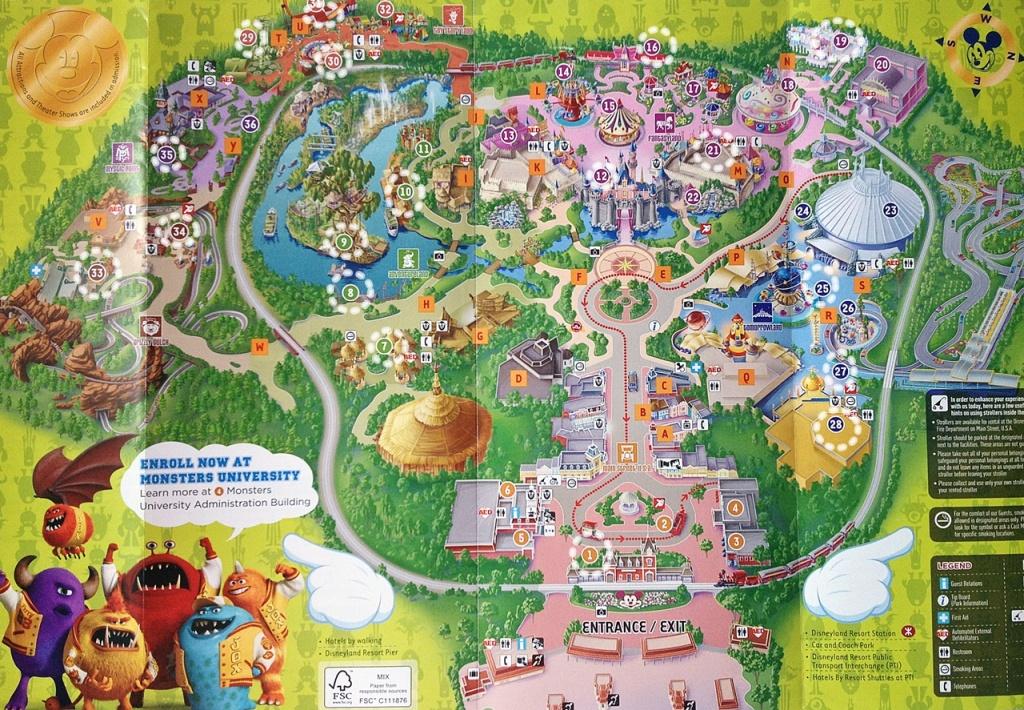 Dwika Sudrajat: Hongkong Disneyland Map 2014 - Printable Disneyland Map 2014