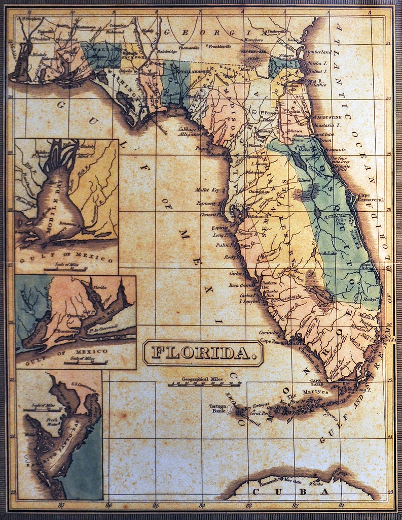 Early Florida Map | Bmill604 | Flickr - Early Florida Maps