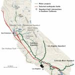 Earthquake Threats To California's Water - Los Angeles Times - California Water Map