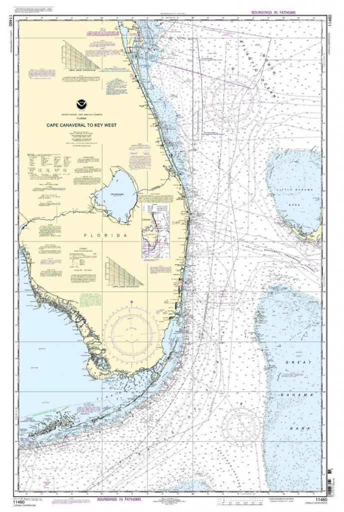 East & Gulf Coasts Usa Paper Charts - Page 4 Of 6 - Nautical Maps Florida
