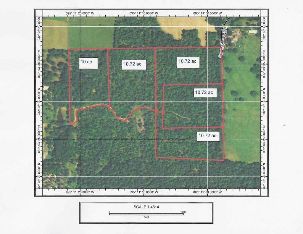 East Texas Land For Sale - Texas Land For Sale Map
