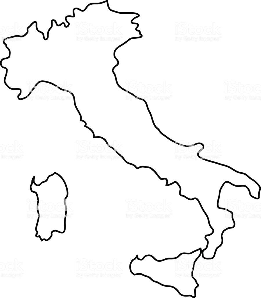 Ebdaabbdbfcceba Clipart Italian Regional Map Italy Black And White - Printable Blank Map Of Italy