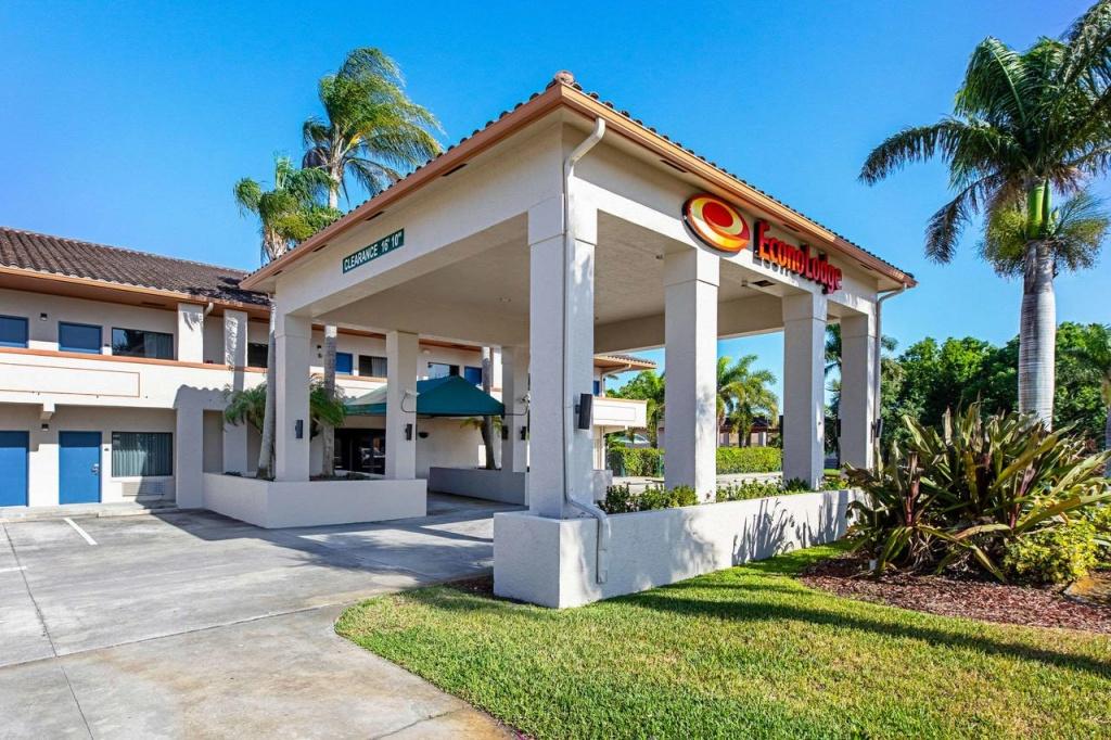 Econolodge Vero Beach, Fl - Booking - Map Of Vero Beach Florida Area