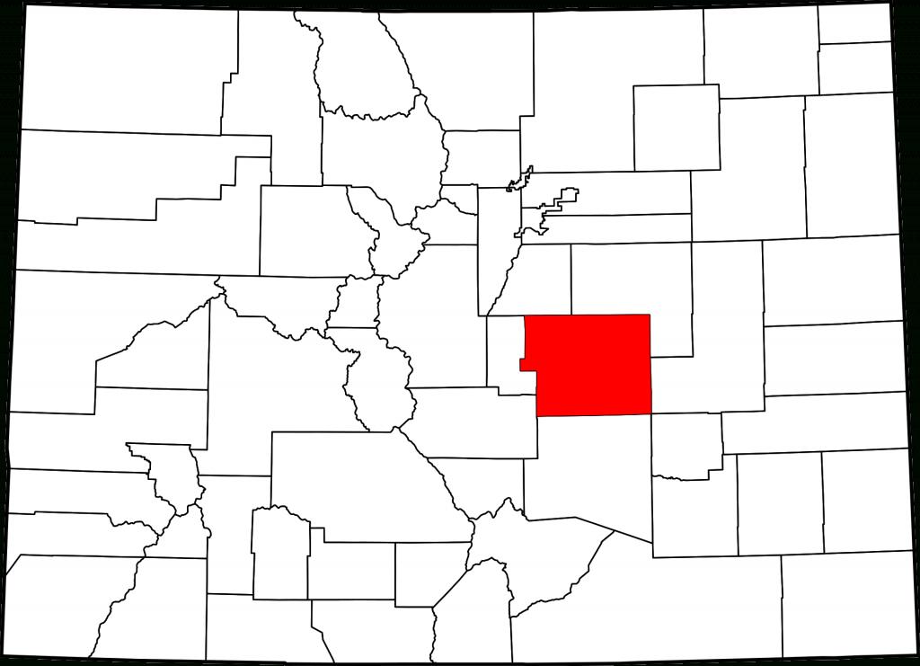 El Paso County, Colorado   Map, History And Towns In El Paso Co. - El Paso County Map Texas