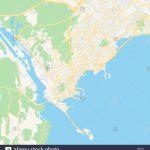 Empty Vector Map Of Panamá, Panamá, Panama, Printable Road Map   Printable Map Of Panama