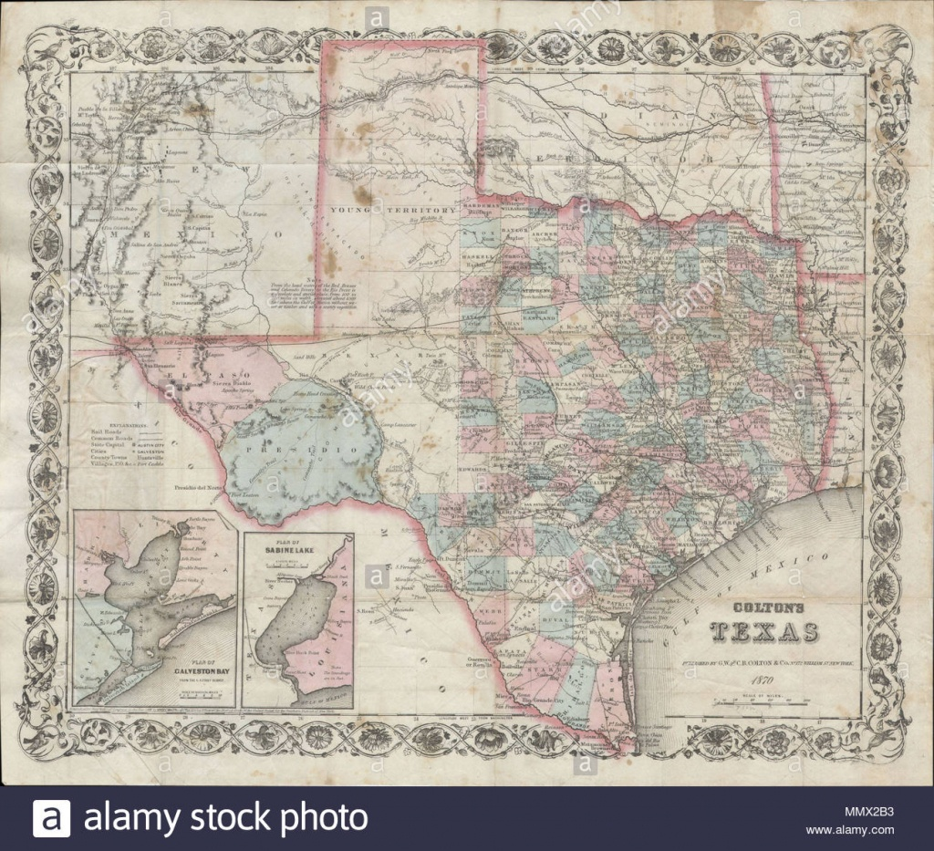English: An Extremely Rare And Unusual Map Pocket Map Of Texas - Texas Forts Trail Map