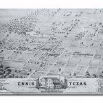 Ennis City Map   Ennis Texas • Mappery | Genealogy | Ennis Texas   Ennis Texas Map