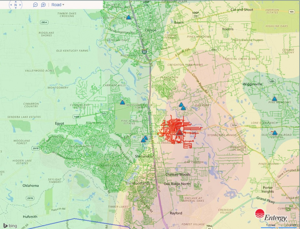 Entergy Diligently Repairs 5,000 Area Outages From Morning Storms - Entergy Texas Outage Map
