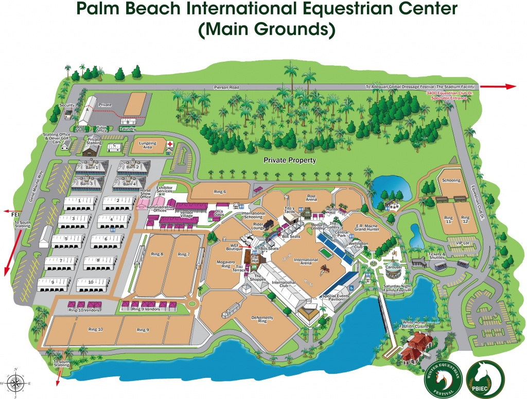 Equestrian Sport Productions - Wellington Florida Map