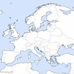 Europe Outline Maps  Freeworldmaps   Printable Map Of Europe And Asia