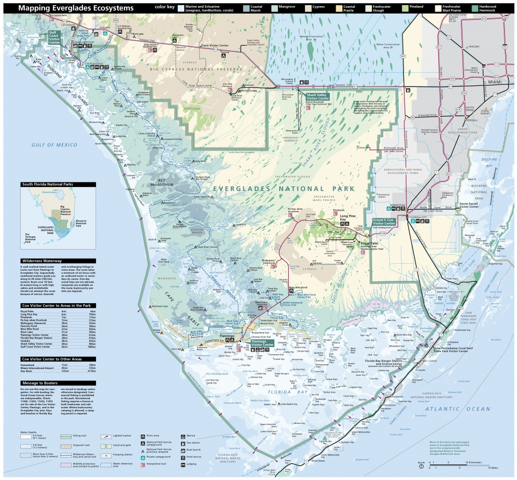 Everglades Maps | Npmaps - Just Free Maps, Period. - South Florida National Parks Map