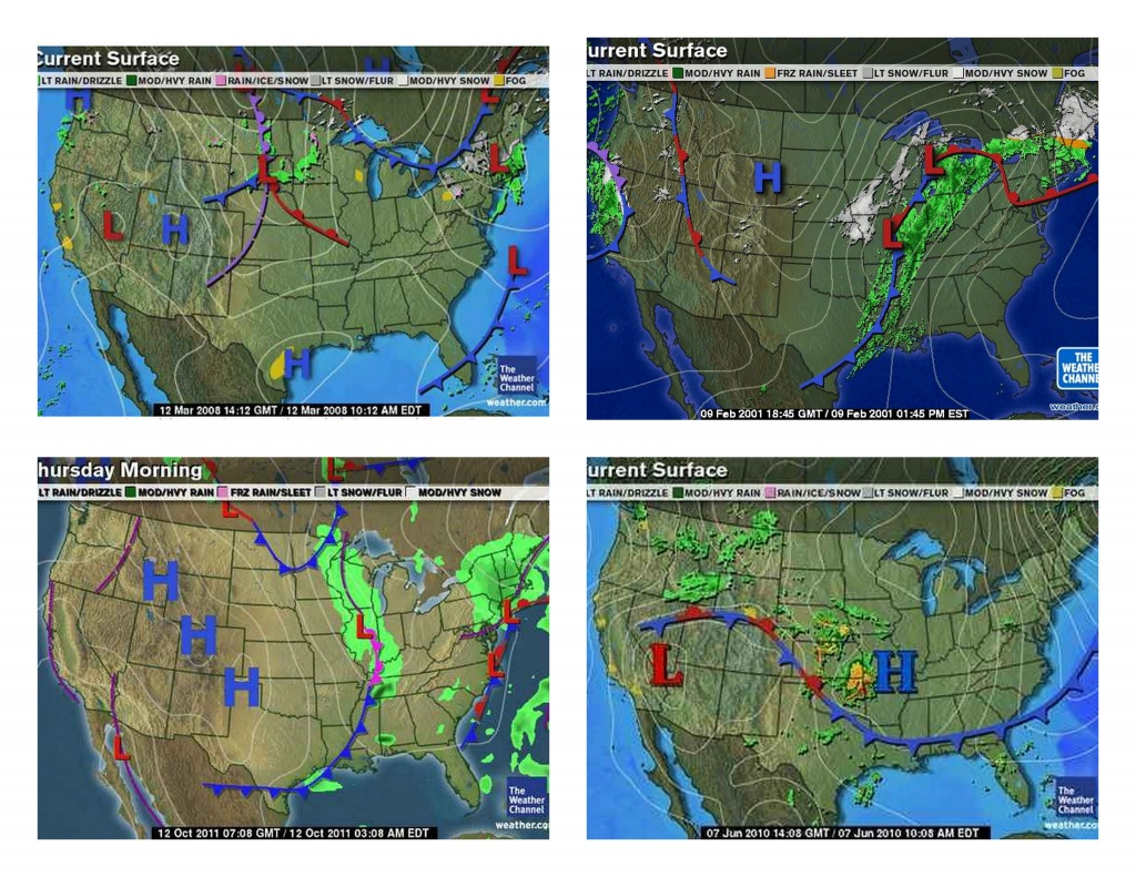 Example Sample Weather Maps Printable | Weather | Outdoor Blanket - Printable Weather Map