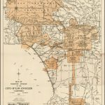 Expanding City Of Los Angeles, Circa 1918 | Maps | City Maps, Old   Historical Maps Of Southern California
