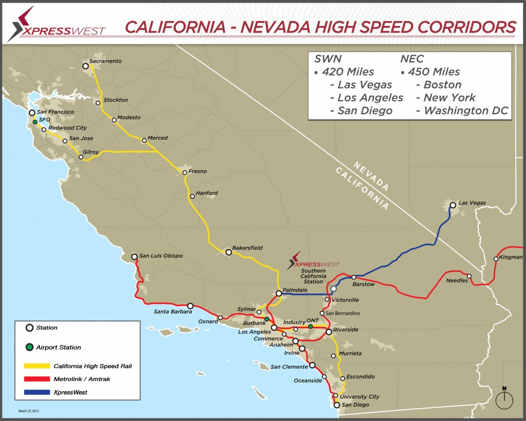 Expansion • Xpresswest Website - California High Speed Rail Progress Map