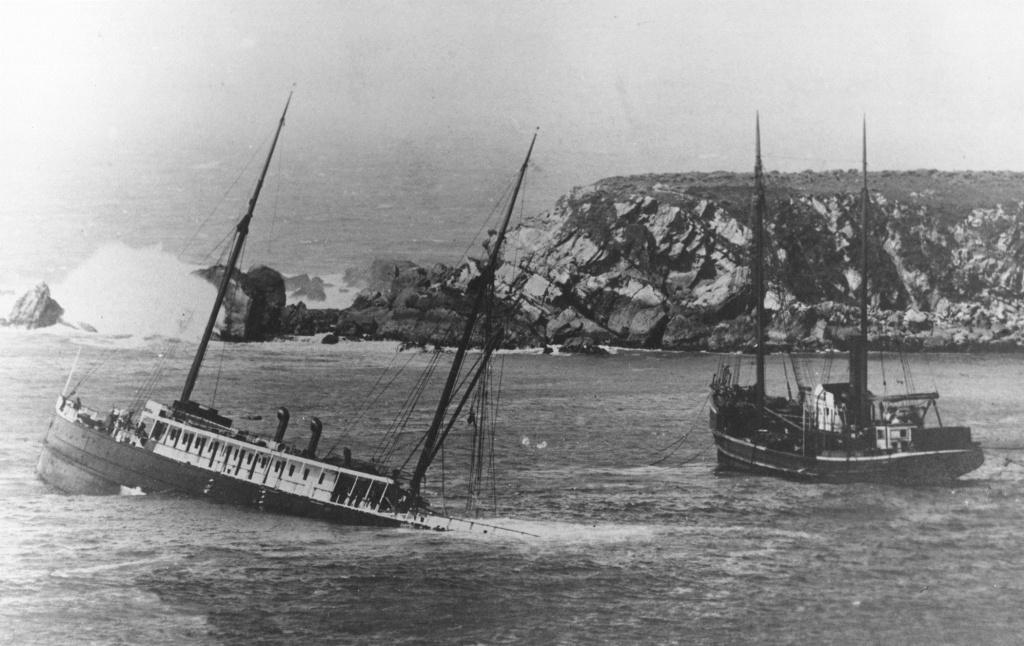 Exploring Historic Shipwrecks Along California's Redwood Coast | The - California Shipwreck Map