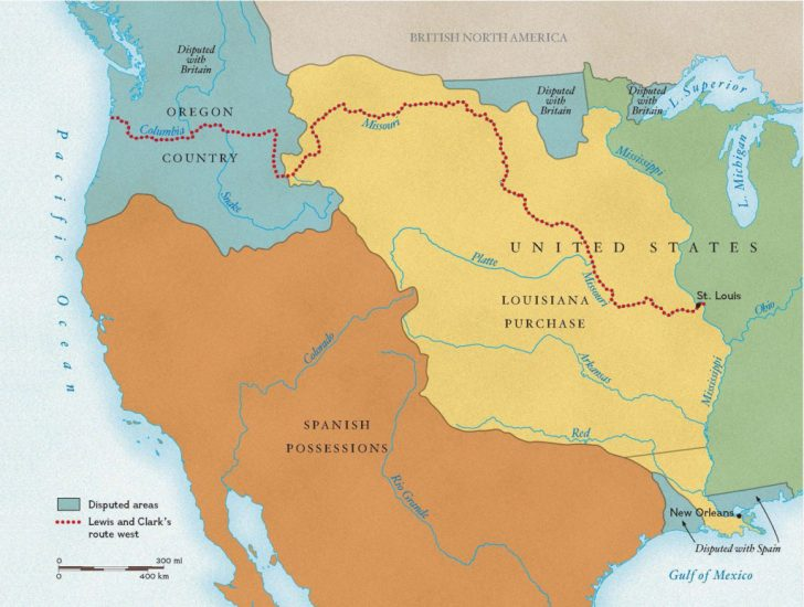 Lewis And Clark Expedition Map Printable
