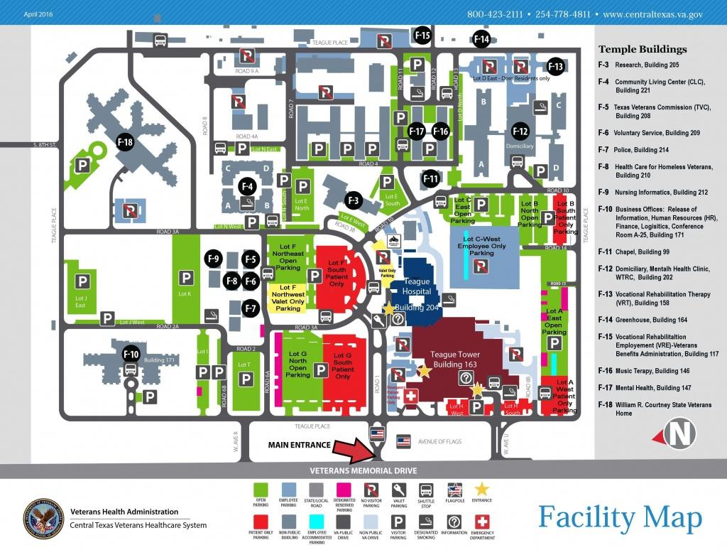Facility Maps Central Texas Veterans Health Care System Dallas Hotel - Texas Health Dallas Map