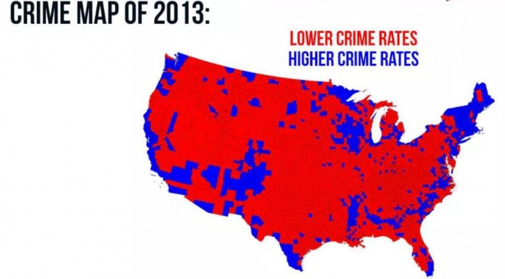 Fact Check: Do Maps Show High Crime Rates Where Democrats Vote? - Orange County Florida Crime Map