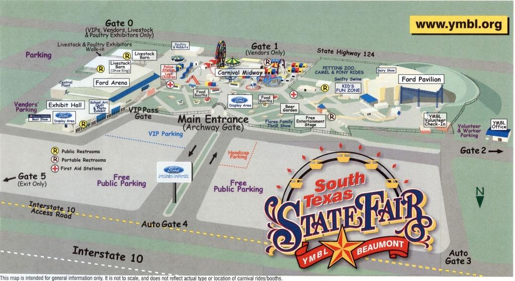 Fairgrounds Map - Texas State Fair Parking Map
