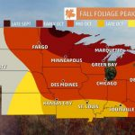 Fall Foliage Finder   Following Fall   California Fall Color Map 2017