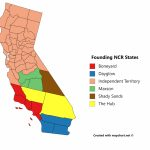 Fallout Maps! (With Some Creative Reinterpretation)   Album On Imgur   Map Of The New California Republic