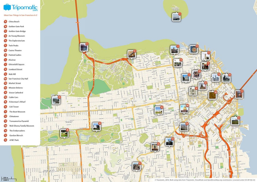 Famous Landmarks In Chinatown San Francisco. Detectives Guide To - Printable Map Of Chinatown San Francisco
