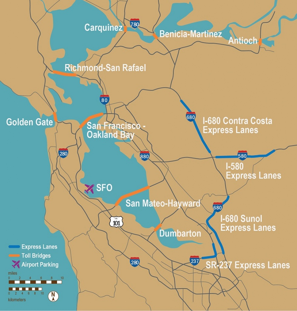 Fastrak - Southern California Toll Roads Map