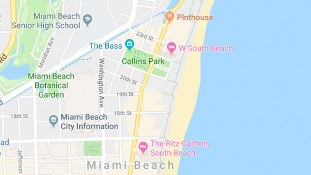 Fecal Bacteria Prompts Swim Advisory At Collins Park In Miami Beach - Florida Beach Bacteria Map 2018