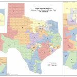 Federal Judges Propose Maps For Texas Legislative Races | The Texas - Texas Congressional Map