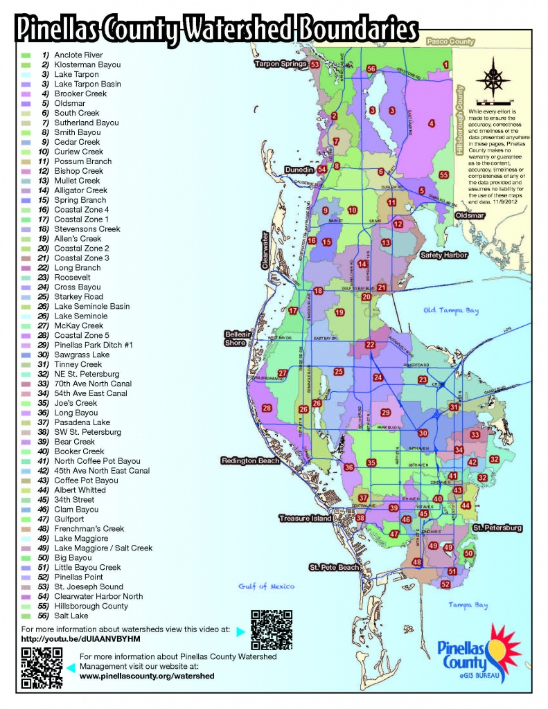 Fema Releases New Flood Hazard Maps For Pinellas County - Flood Maps West Palm Beach Florida