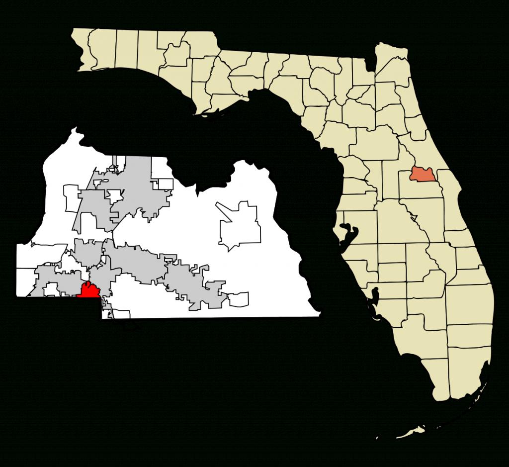 Fern Park, Florida - Wikipedia - Winter Park Florida Map