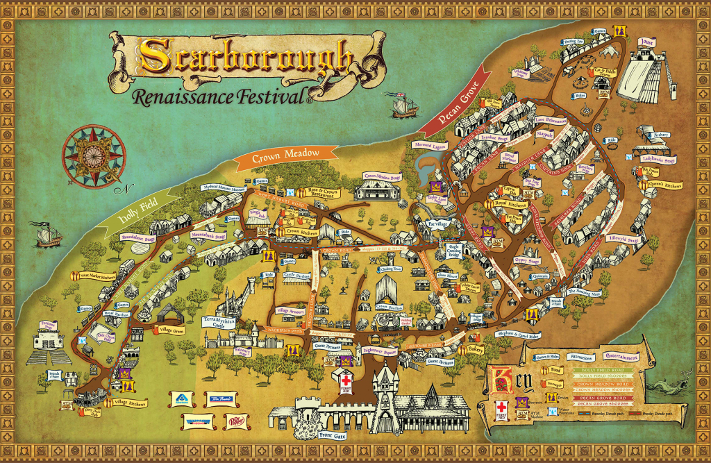 Festival Map - Scarborough Renaissance Festival - Texas Renaissance Festival Map
