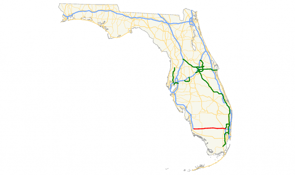 Fichier:alligator Alley Map — Wikipédia - Alligators In Florida Map