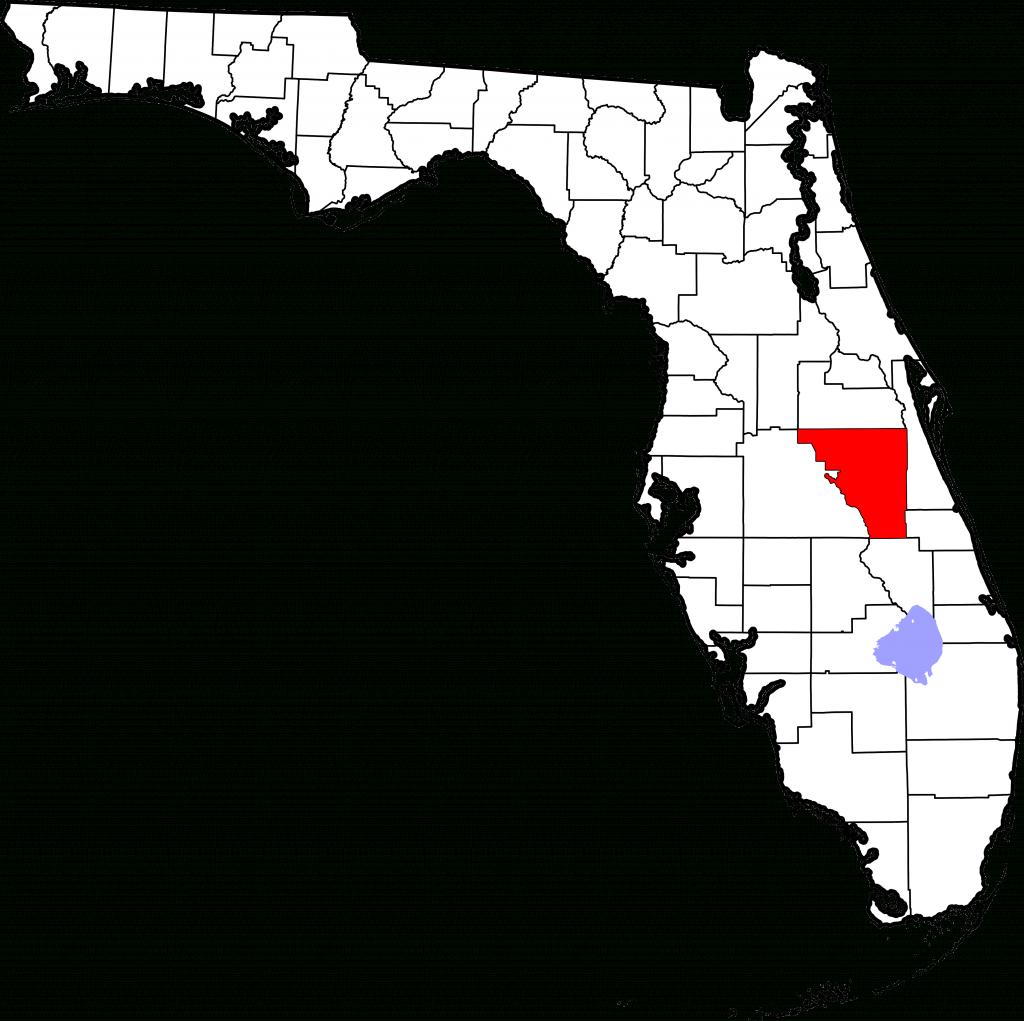Fichier:map Of Florida Highlighting Osceola County.svg — Wikipédia - Map Of Osceola County Florida