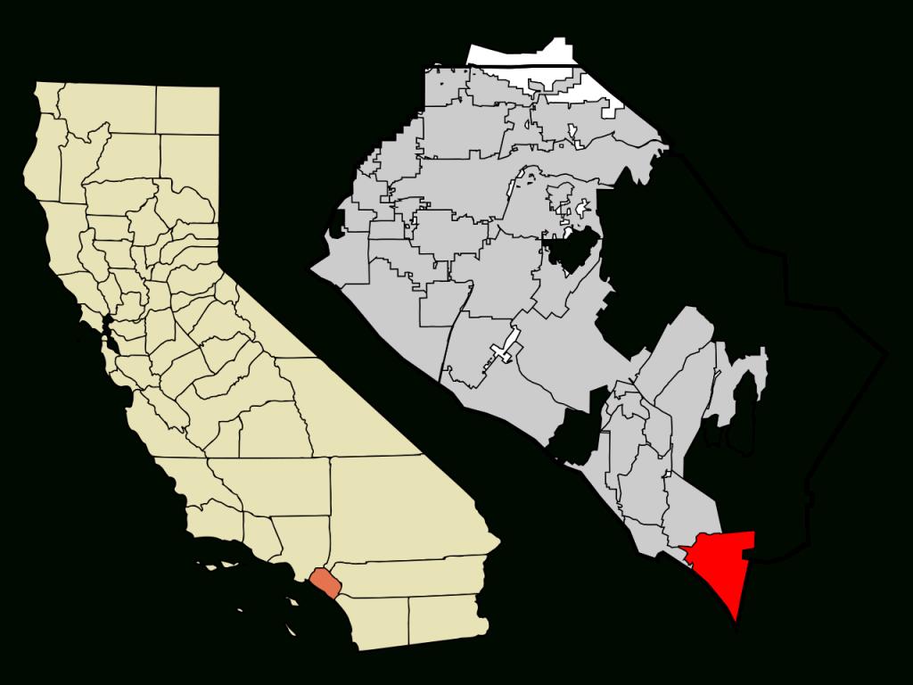 Fichier:orange County California Incorporated And Unincorporated - Orange County California Map