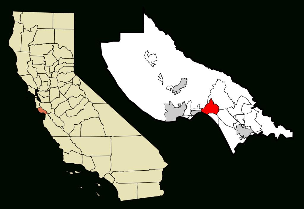 Fichier:santa Cruz County California Incorporated And Unincorporated - Where Is Santa Cruz California On The Map