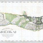 File:1897 Land Office Map Of The Island Of Molokai, Hawaii   Molokai Map Printable