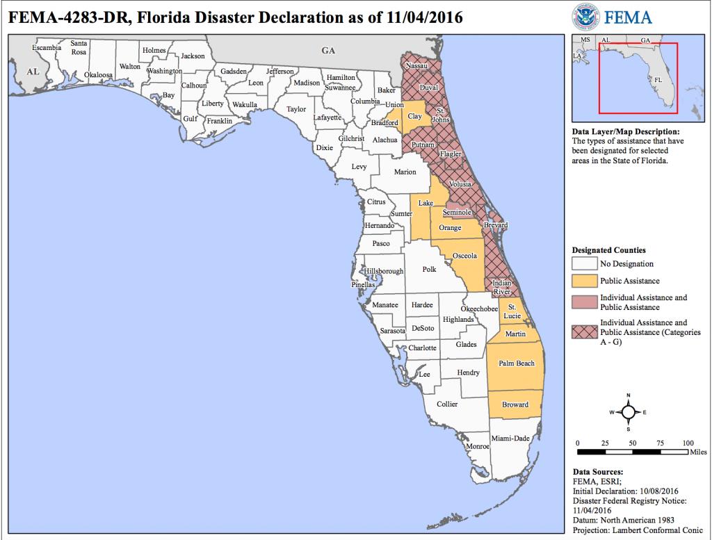 File:hurricane Matthew Florida Disaster Declarations - Wikimedia - Florida Disaster Map