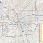 File:location Map Indianapolis   Wikipedia   Printable Map Of Indianapolis